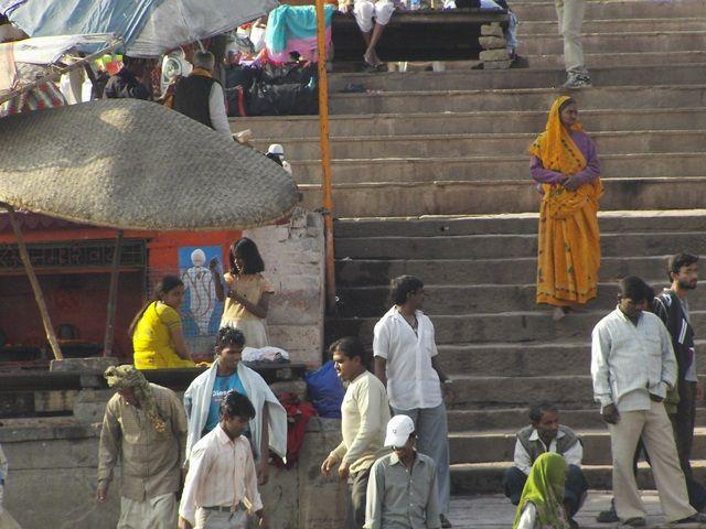 Zdjęcia: Varanasi, Uttar Pradesh, ghat, INDIE
