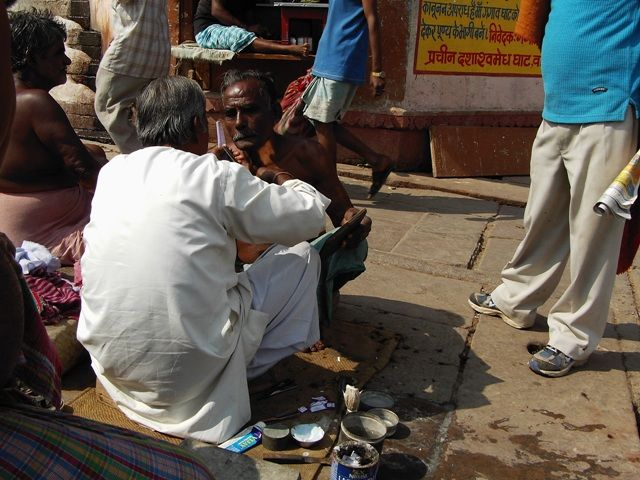 Zdj�cia: Varanasi, Uttar Pradesh, golibroda, INDIE