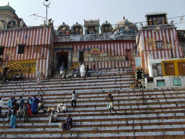 Zdjęcia: Varanasi, Uttar Pradesh, kolorowy gath, INDIE