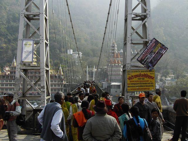 Zdjęcia: Rishikesh, Uttaranchal, Lakshman Jhula, INDIE