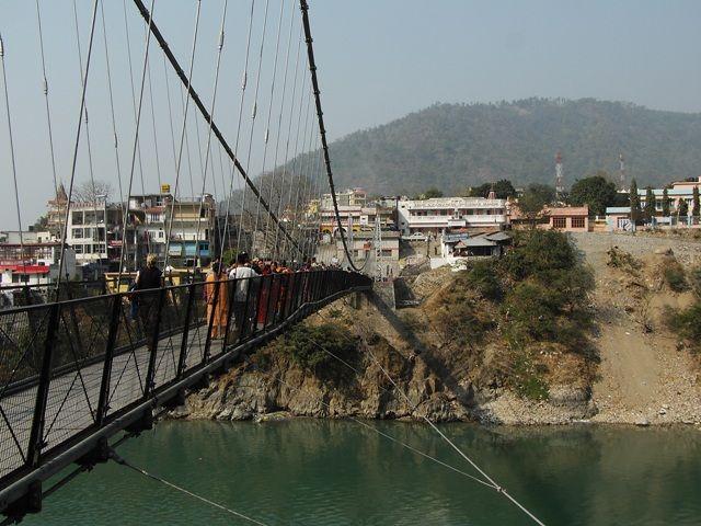 Zdjęcia: Rishikesh, Uttaranchal, drugi brzeg, INDIE