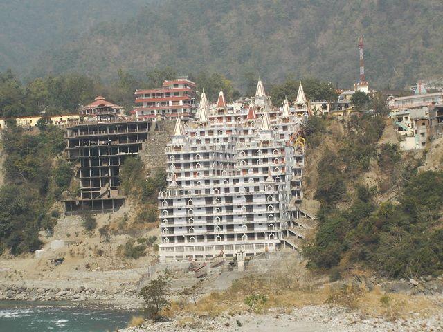 Zdjęcia: Rishikesh, Uttaranchal, czyżby kolejny Ashram?, INDIE
