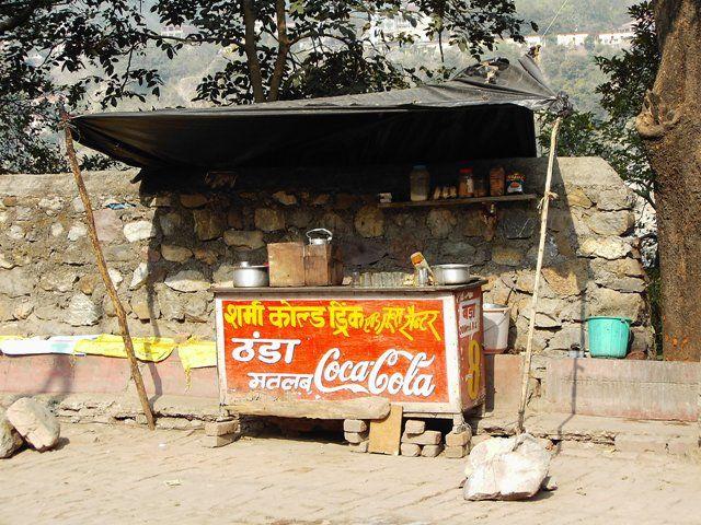 """Zdjęcia: Rishikesh, Uttaranchal, sklep """"skromny"""", INDIE"""