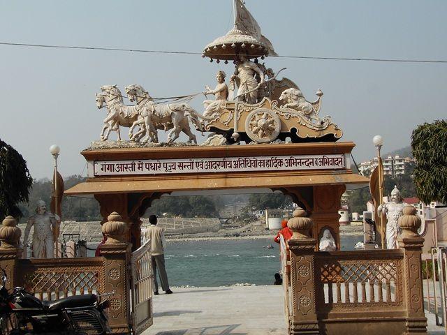 Zdjęcia: Rishikesh, Uttaranchal, Rydwan, INDIE
