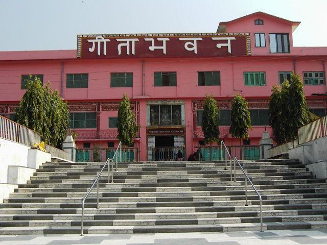 Zdjęcia: Rishikesh, Uttaranchal, schody, INDIE