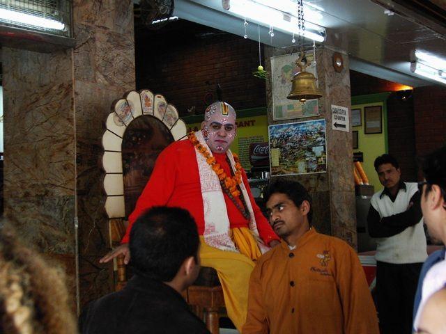Zdjęcia: Rishikesh, Uttaranchal, reklama restauracji, INDIE