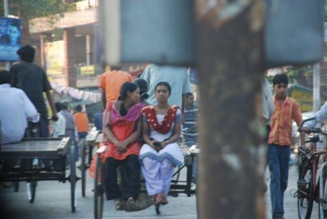 Zdj�cia: Salt Lake City, Kalkuta, Ruch uliczny w Kalkucie, INDIE