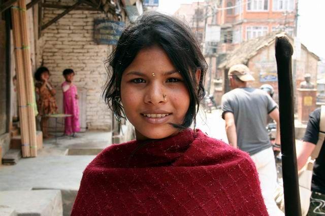 Zdj�cia: Na trasie ..., Twarze Indii, INDIE