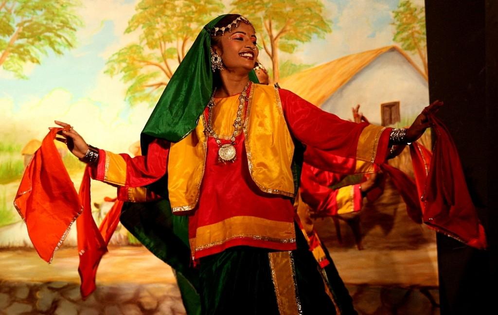 Zdj�cia: Khajuraho, Khajuraho, ta�ce , INDIE