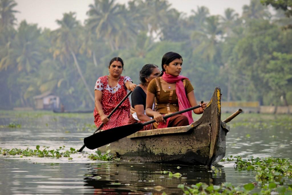 Zdjęcia: Kerala, Backwaters, INDIE