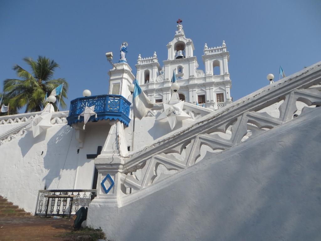 Zdjęcia: Pandżim,, Goa, Kościoły w Indiach, INDIE