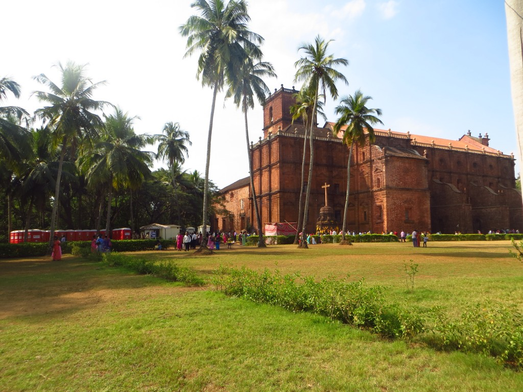 Zdjęcia: Old Goa, bazylika de Bom Jesus, Goa, Kościoły w Indiach, INDIE