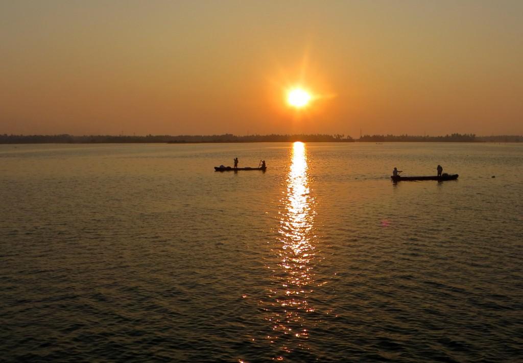 Zdjęcia: Rozlewiska, Kerala, ...., INDIE