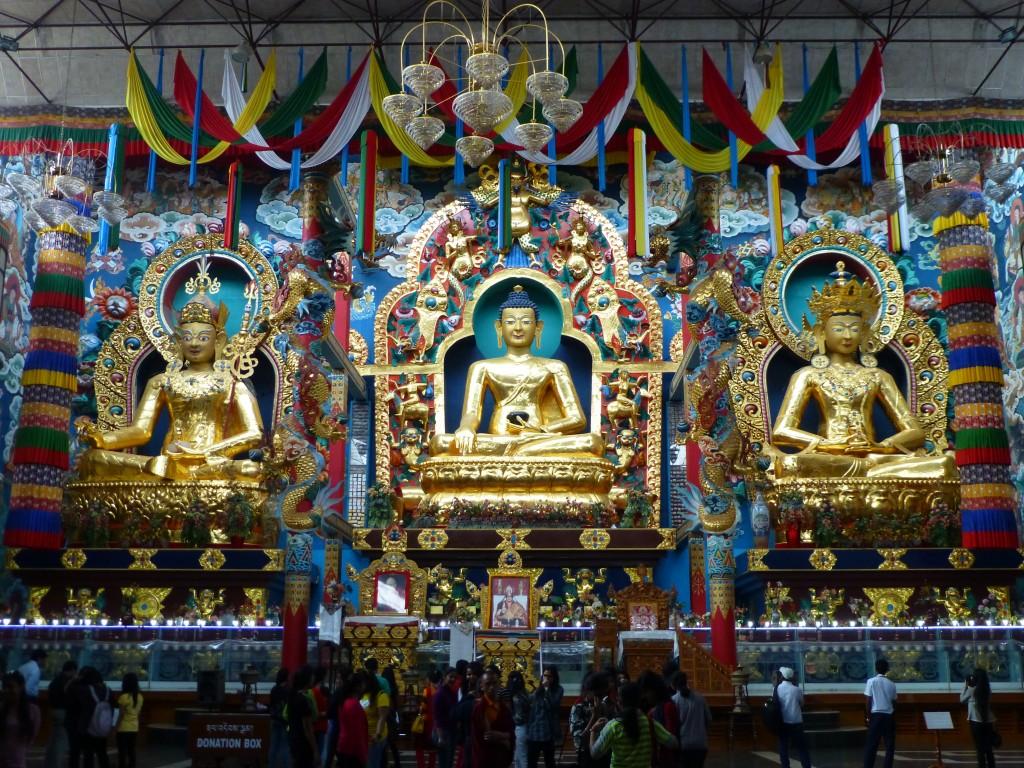 Zdjęcia: Namdroling, Karnataka, W Złotym Klasztorze, INDIE
