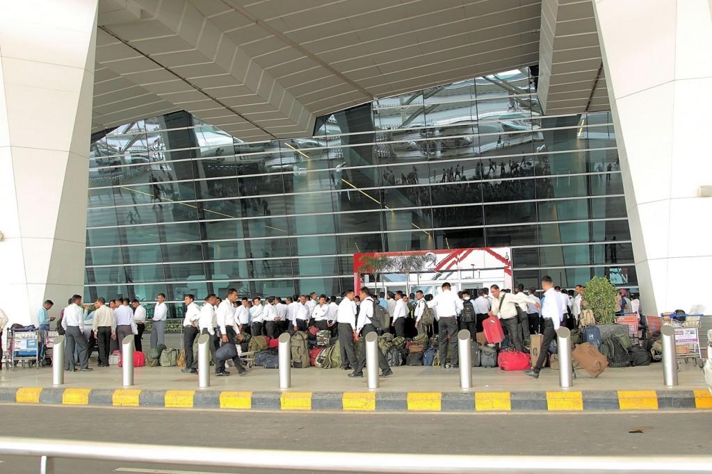 Zdjęcia: Bhopal, Terminal lotniska w Bhopalu, INDIE