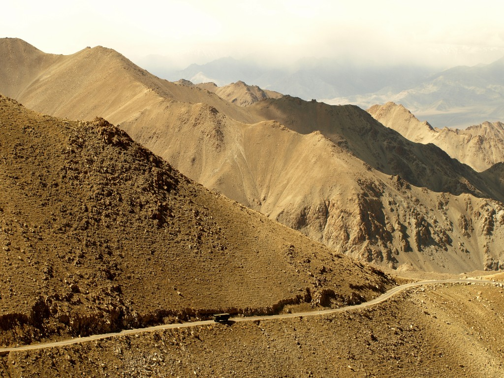Zdjęcia: Ladakh, Jammu i Kashmir, droga, INDIE
