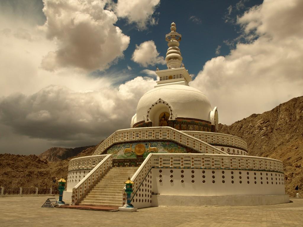 Zdjęcia: Ladakh, Leh, Jammu i Kashmir, Shanti Stupa, INDIE
