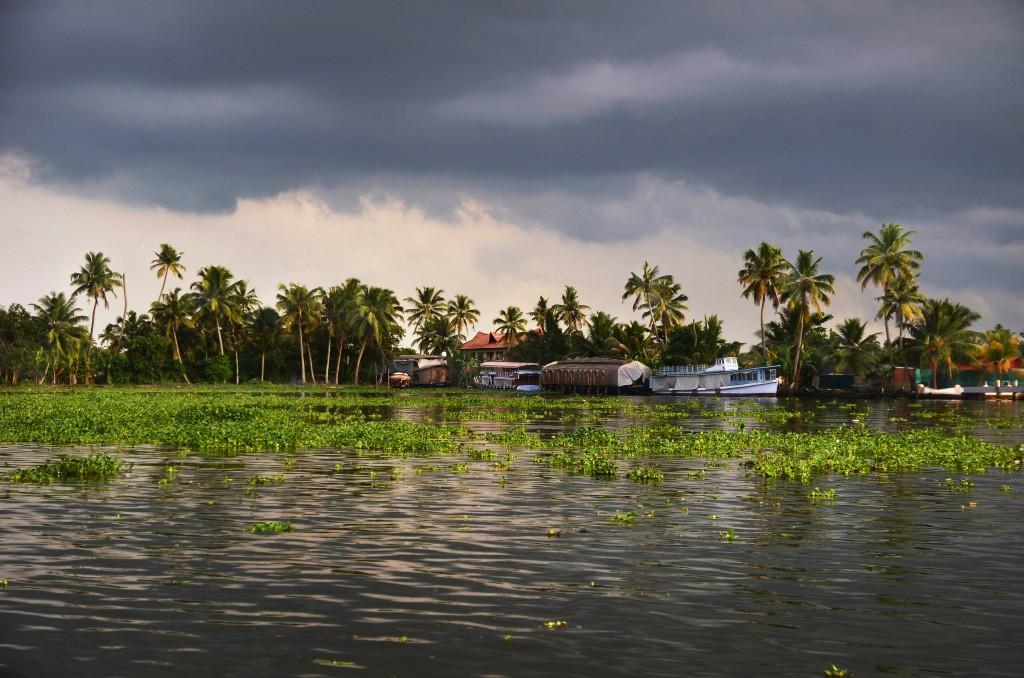 Zdjęcia: Alappuzha, Kerala, Cisza przed burzą., INDIE