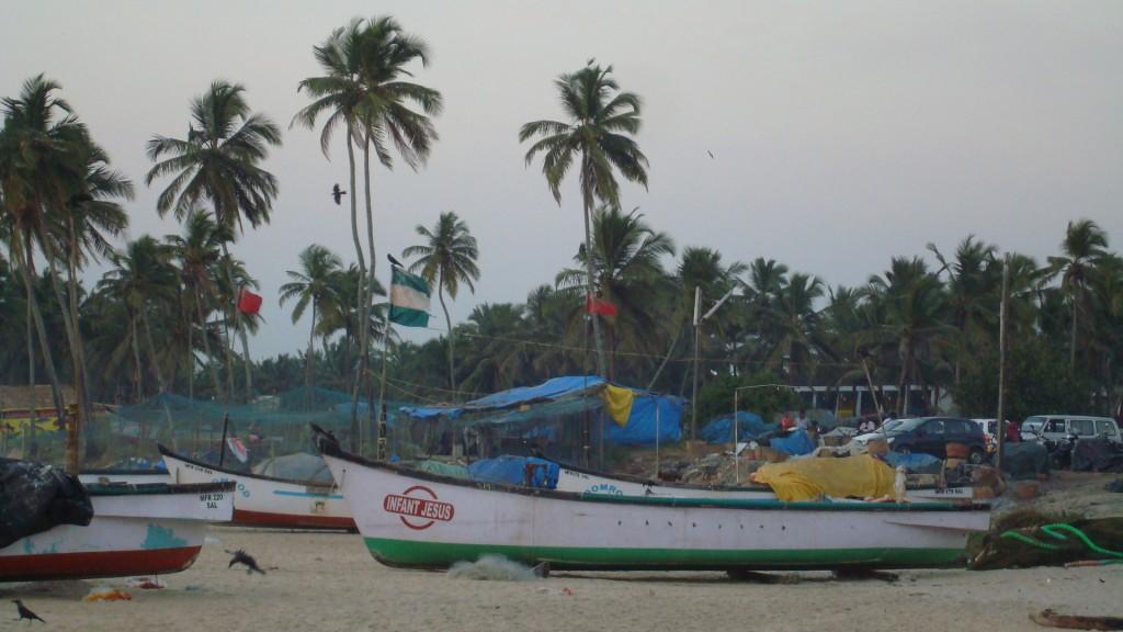 Zdjęcia: COLVA, GOA, Plaża Colva, INDIE