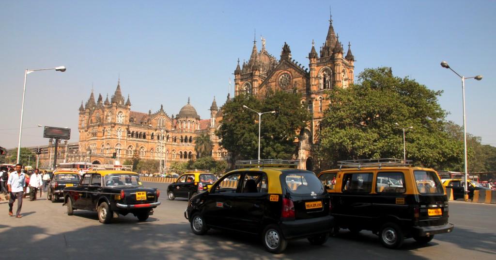 Zdjęcia: Bombaj, Maharasztra, Dworzec kolejowy Chhatrapati Shivaji Terminus, INDIE