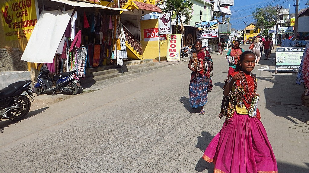 Zdjęcia: Mahabalipuram, Tamil Nadu, ulice Mahabalipuram, INDIE
