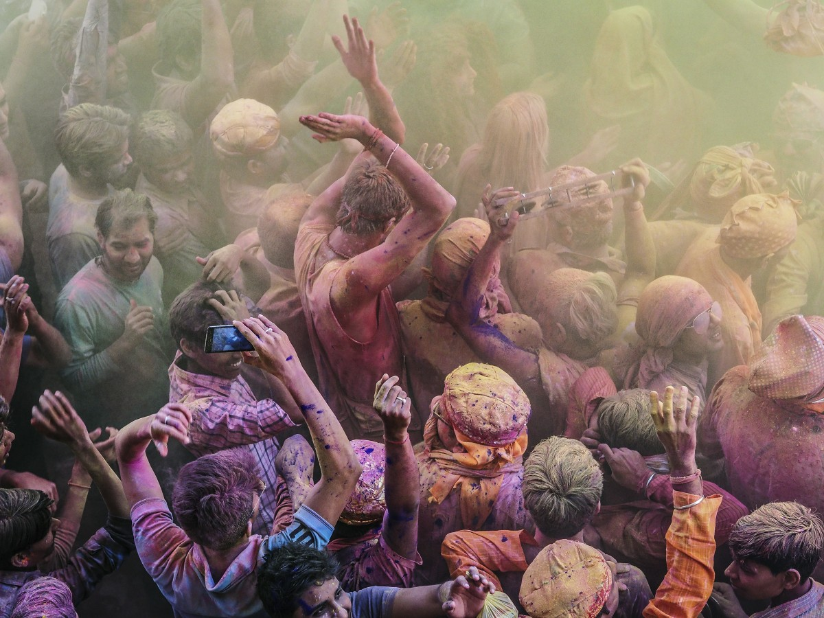 Zdjęcia: Mathura, Uttar Pradesh, Holi , INDIE