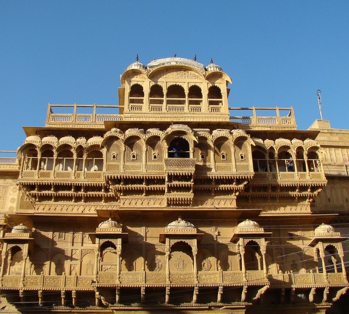Zdjęcia: Jaisalmer, Radżastan, Haveli, INDIE
