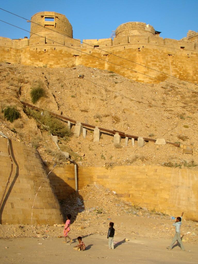 Zdjęcia: Jaisalmer, Radżastan, Fort, INDIE