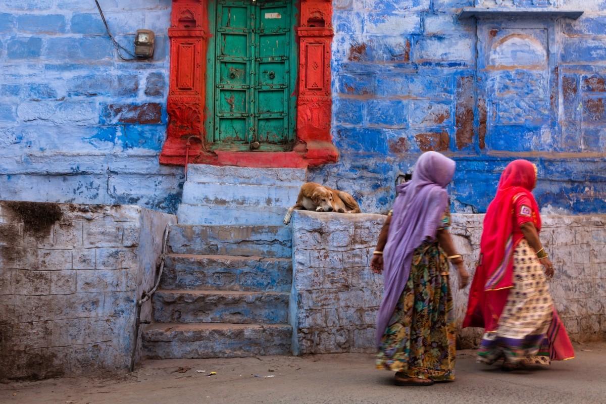 Zdjęcia: Dźodhpur, Radżastan, Mgnienie, INDIE