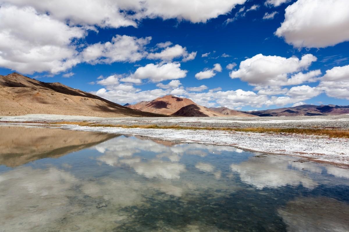 Zdjęcia: Tso Kar, Ladakh, ., INDIE