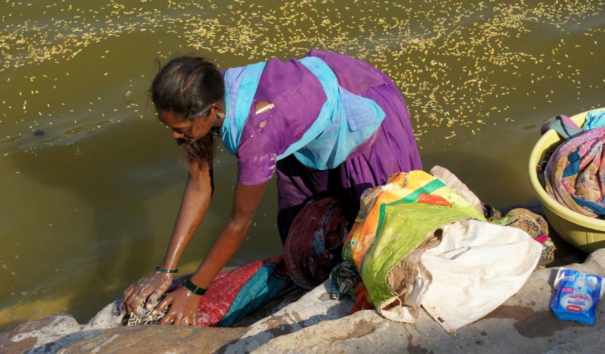Zdjęcia: Hampi, Karnataka, Praczka, INDIE