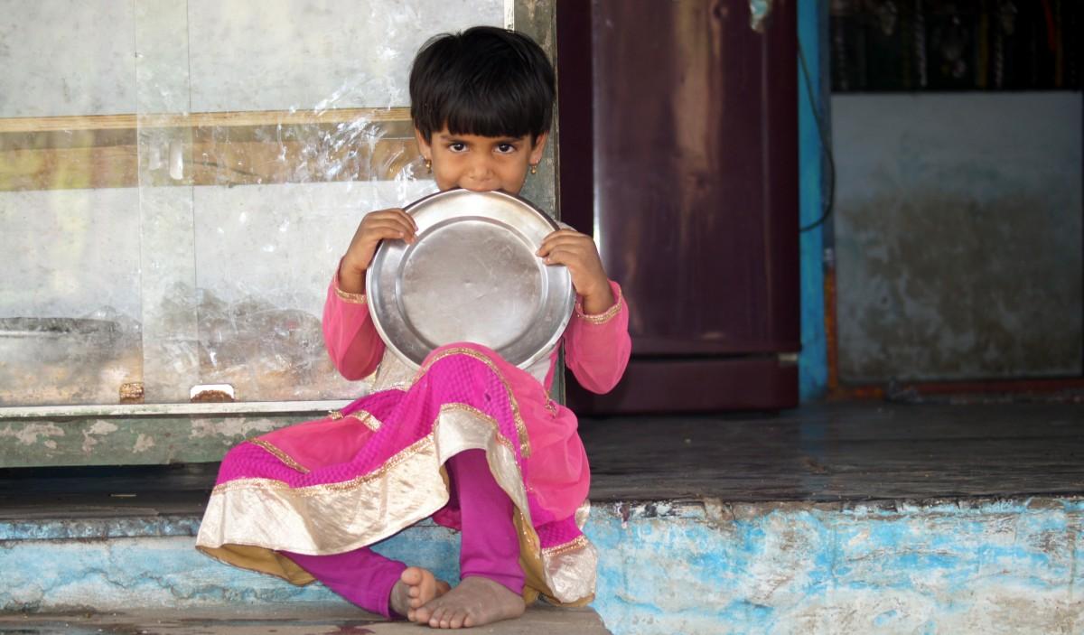 Zdjęcia: hampi, Karnataka, Dziewczynka, INDIE