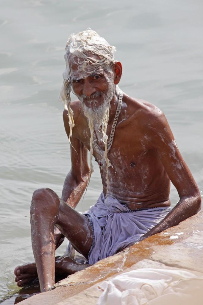 Zdjęcia: Varanasi, Uttar Pradesh, Twarze Indii 1, INDIE