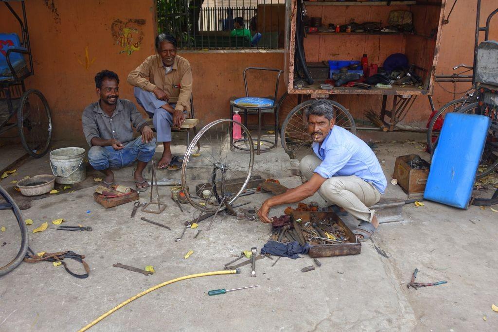 Zdjęcia: New Delhi, New Delhi, Mechanik, INDIE