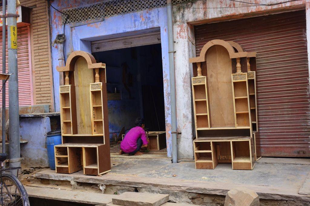 Zdjęcia: New Delhi, New Delhi, Fabryka mebli , INDIE