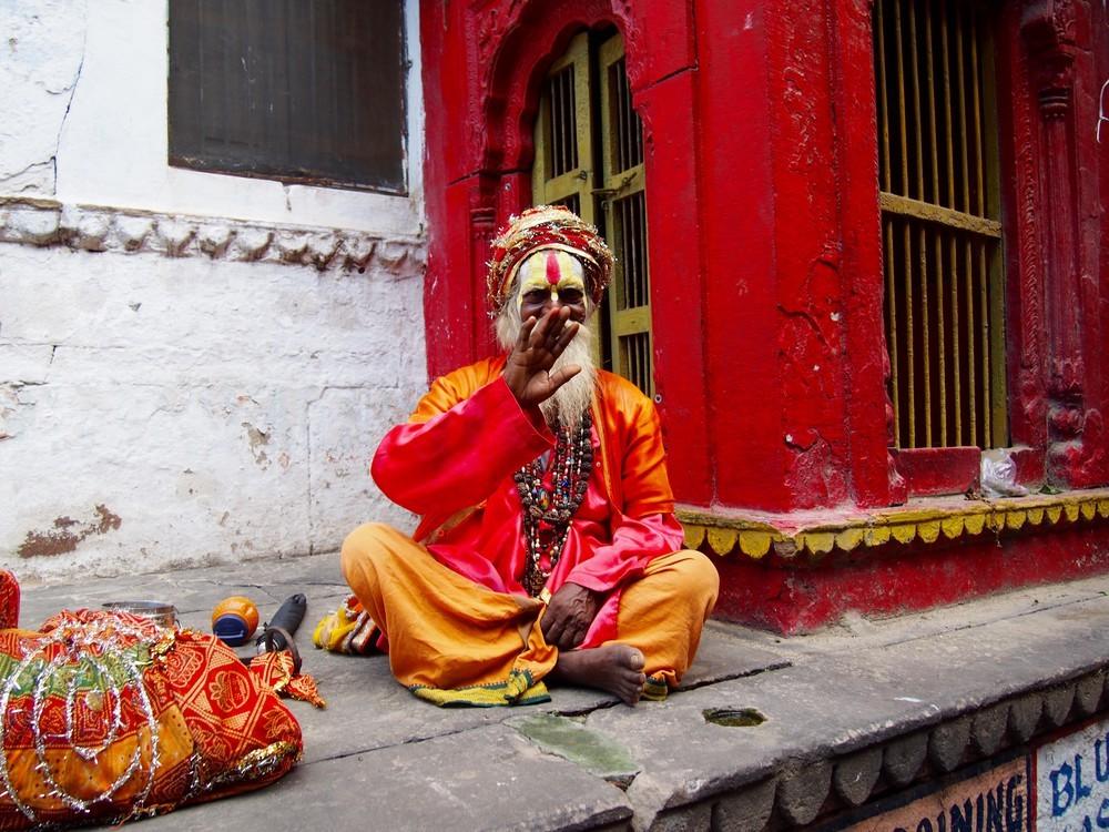 Zdjęcia: Varanasi, Uttar Pradesh, Powitanie w Varanasi, INDIE