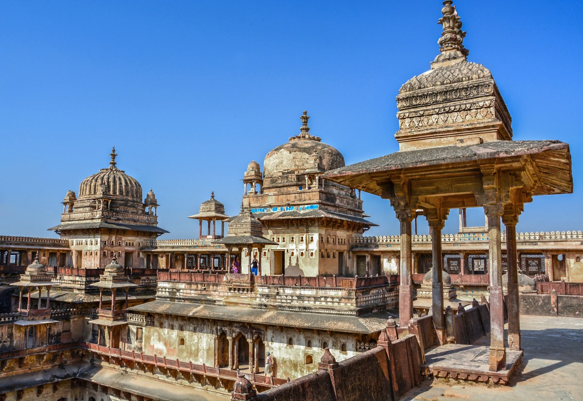 Zdjęcia: Orchha, Jahangir Mahal Orchha, INDIE