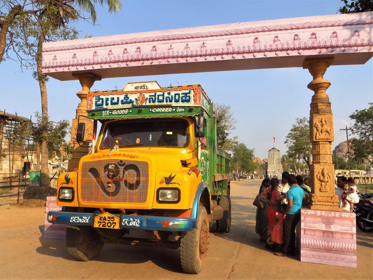 Zdjęcia: Hampi, Karnataka, Przed starożytnymi świątyniami, INDIE