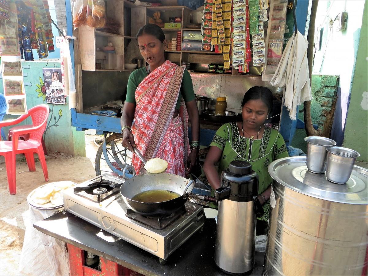 Zdjęcia: Indie, ...,   Będą placki!, INDIE