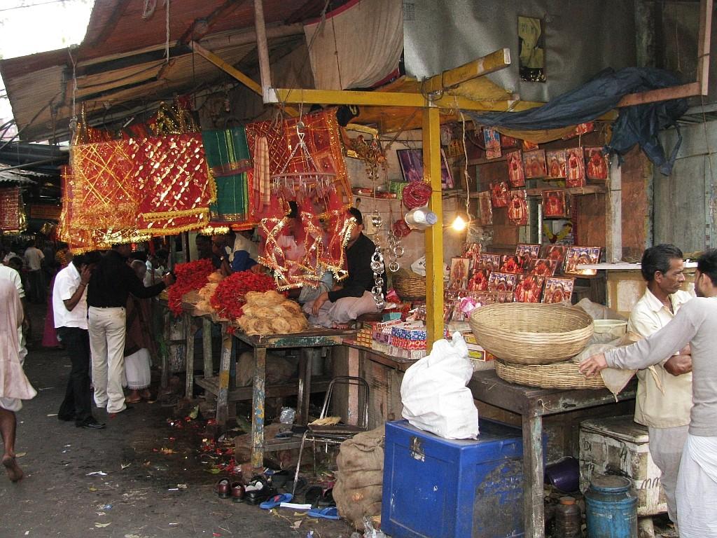 Zdjęcia: Kalkuta, Bengal Zachodni, okolice świątyni Kalighat, INDIE