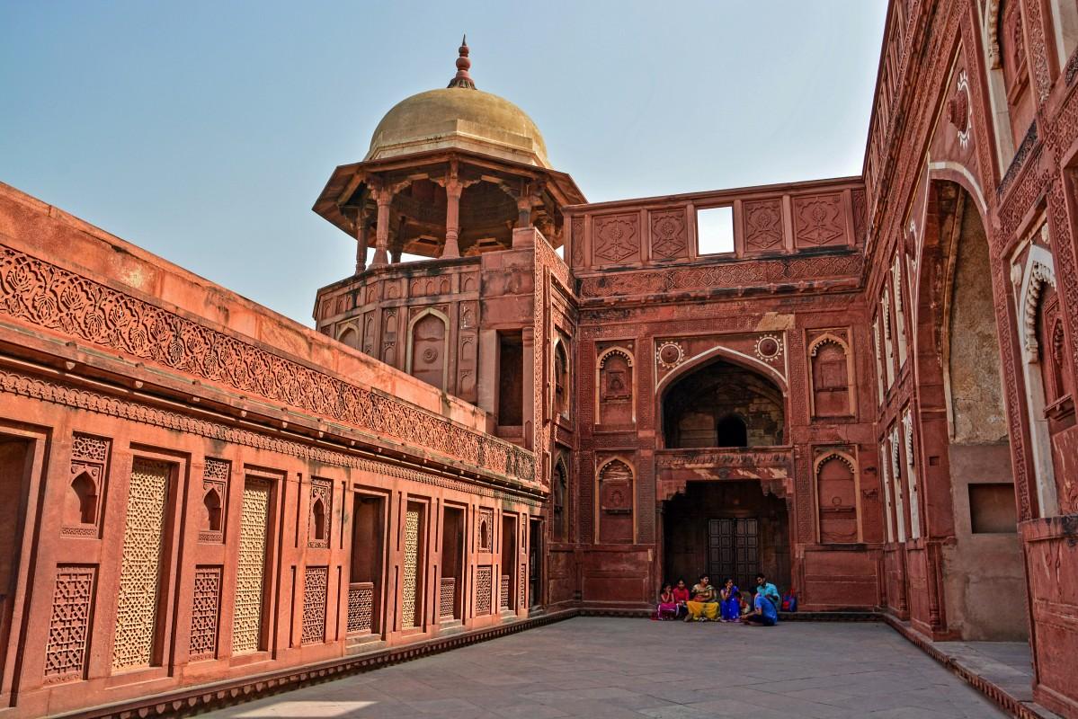 Zdjęcia: Agra, Czerwony Fort w Agrze, INDIE