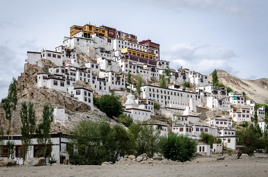 Zdjęcia: Thiksey Monastery, Ladakh, klasztor..., INDIE