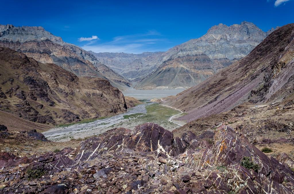 Zdjęcia: Kunzum La, Himachal Pradesh, barwna paleta..., INDIE