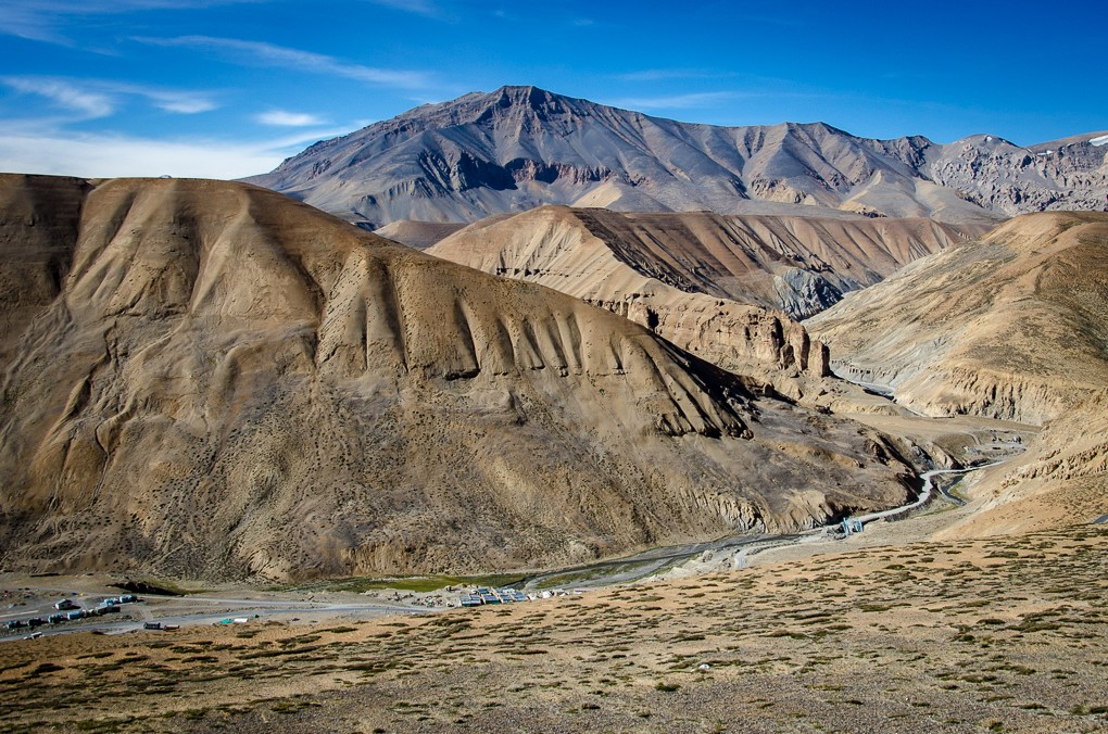 Zdjęcia: Taglang La, Ladakh, osada..., INDIE