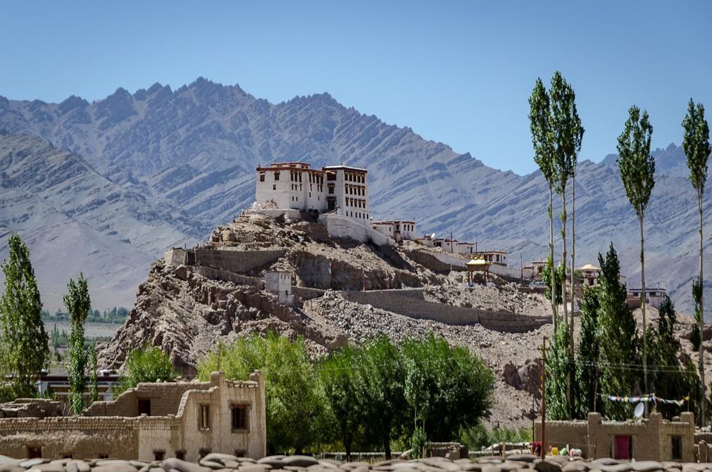 Zdjęcia: Thiksey Monastery, Ladakh, dolina klasztorów..., INDIE