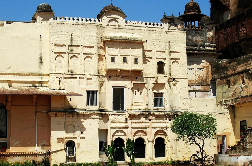 Zdjęcia: Orchha, Madhja Pradesh, Sheesh Mahal, INDIE