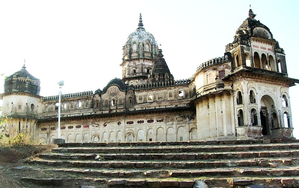 Zdjęcia: Orchha, Madhja Pradesh, świątynia Lakszmi, INDIE