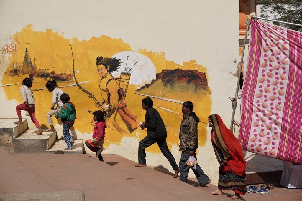 Zdjęcia: Orchha, Madhya Pradesh, Pod czujnym okiem Ramy, INDIE