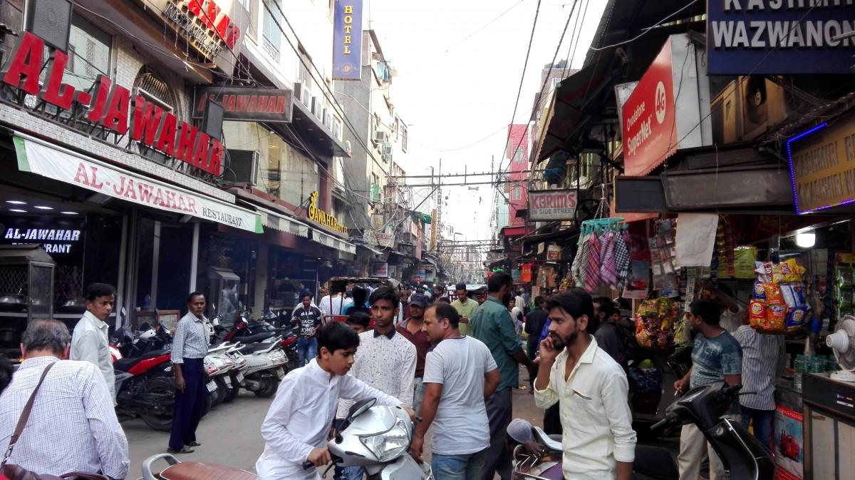 Zdjęcia: New Delhi, Północne Indie, Na jednej z ulic, INDIE