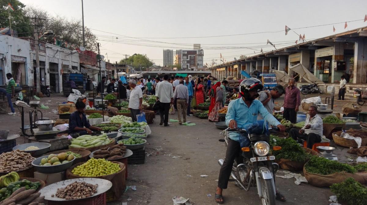 Zdjęcia: Bikaner, Północno-zachodnie Indie, Bazar warzywny, INDIE